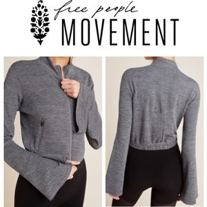 ⚡️SALE⚡️ FP Movement Off the Grid Gray Jacket